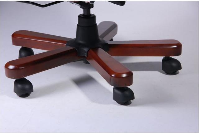 Кресло Ричмонд, кожа коричневая (642-B+PVC) фото 8
