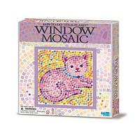 ✅ Набор для творчества 4M Мозаика на окно (в ассортименте Бабочка/Дельфин/Котенок) (00-04526)