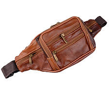 Вместительная поясная мужская унисекс сумка бананка, фото 2