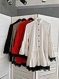 Женское стильное платье с кружевом (в расцветках), фото 3