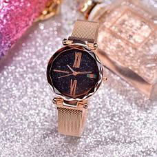 Стильные женские часы Starry Sky Watch на магнитной застёжке, фото 2