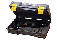 Ящик для електроінструменту пластмасовий з органайзером в кришці STANLEY, 72.3 x 33.2 x 42.5 см