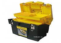 Ящик для інструменту STANLEY плас-ий з 2-ма з'ємними органайзерами і металев.замками48,6х27,6х23,2см