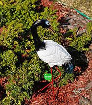 Садовая фигура Журавли на металлических лапах, фото 2