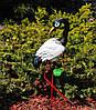 Садовая фигура Журавли на металлических лапах, фото 3