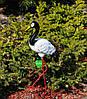 Садовая фигура Журавли на металлических лапах, фото 4