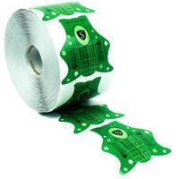 Формы для наращивания ногтей Salon - зелёный, 500 шт