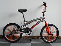 BMX Winner Slalom 20 серо-оранжевый