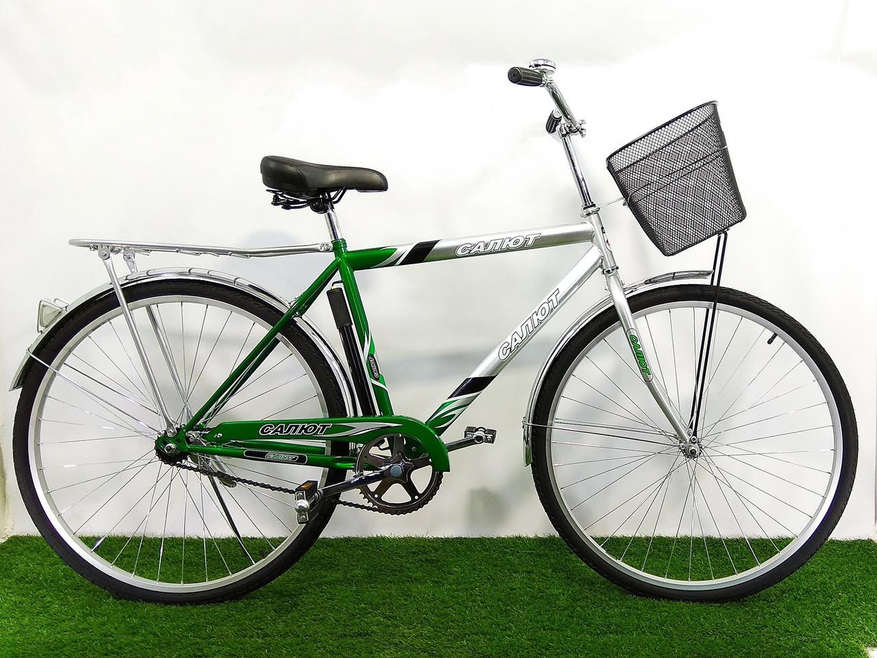 Дорожный велосипед Салют Men 28 Зеленый
