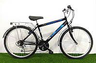 Дорожный велосипед Mustang Upland 24*160 Черно-синий