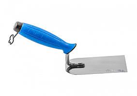 Кельма штукатурна з нержавійки PROFI двокомпонентна ручка 100 мм ТМ VIROK