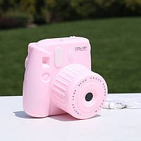 ✅ Вентилятор Фотоаппарат Pink