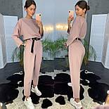 Женский модный брючный костюм (в расцветках), фото 6