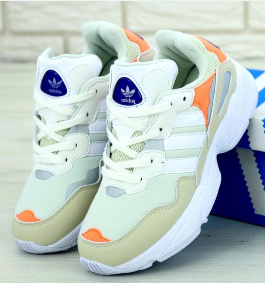 Женские и Мужские кроссовки Adidas Yung 96 Gray