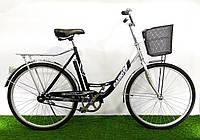 """Дорожный велосипед Салют F-5 26"""" Серо-черный, фото 1"""