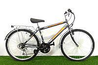 Дорожный велосипед Mustang Upland 26*160 Серо-оранжевый