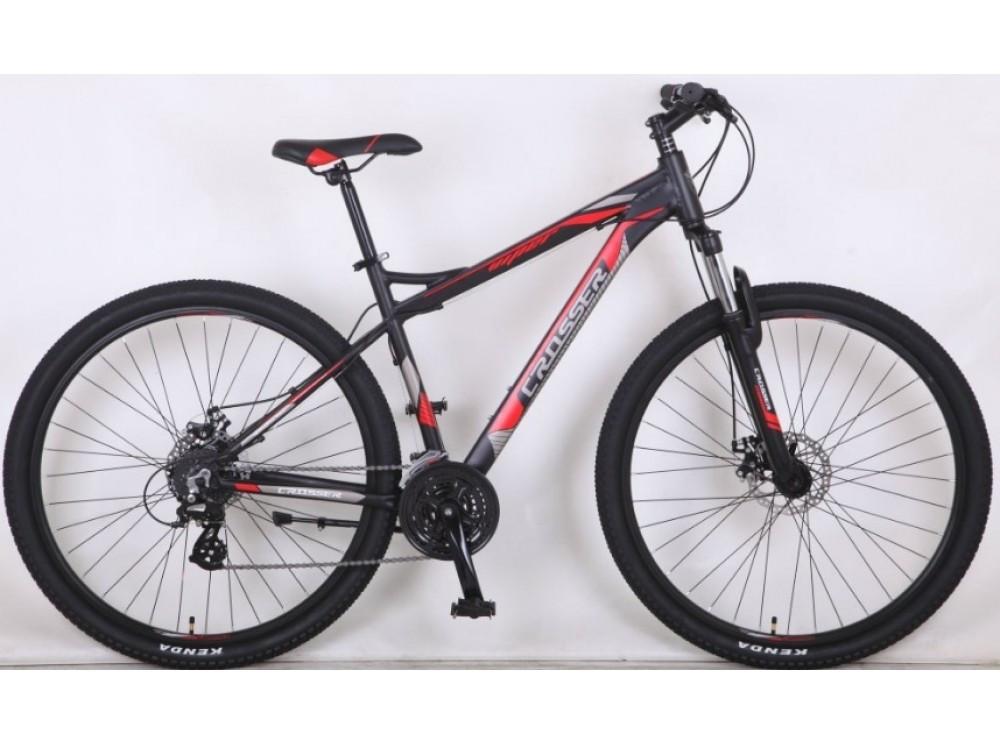 """Горный велосипед Crosser Viper 26""""/18 рама Черный"""