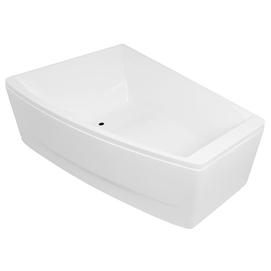 Ванная пристинна асимметричная Volle TS-100 170x120x63 левосторонняя