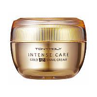 Улиточный крем с 24-каратным золотом Tony Moly Intense Care Gold 24K Snail Cream 45 мл (8806194023762)