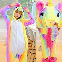 ✅ Детская пижама Кигуруми Единорог радужный 130 (на рост 128-138см)