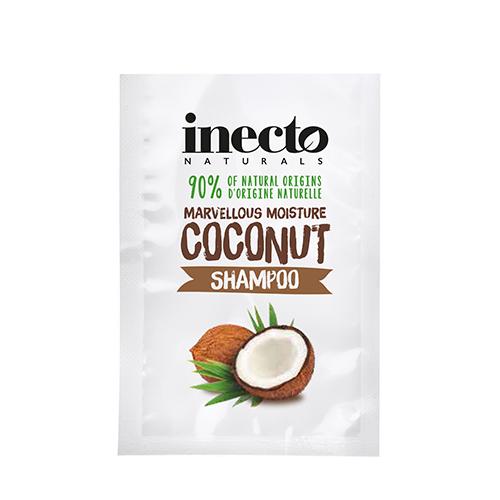 ТЕСТЕР Питательный шампунь для волос с маслом кокоса Inecto Naturals  Coconut Shampoo 10 ml