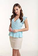 Блузка K&ML 486 голубой 46, фото 1