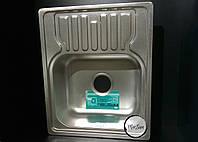 Врезная кухонная мойка из нержавеющей стали Imperial 58*48 Decor ( Фактурная )