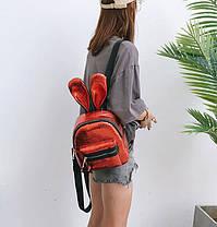 Оригінальний рюкзак з вушками зайця, фото 2