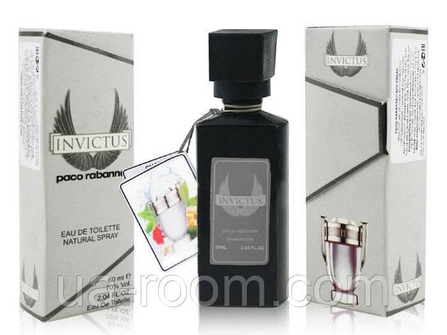 Мини-парфюм 60 мл. Paco Rabanne Invictus, фото 2