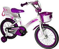 Велосипед детский KIDS BIKE CROSSER-3 18 дюймов. Фиолетовый., фото 1