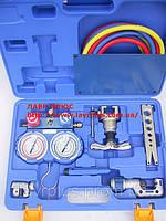 Набор VTB-5B-1  вальцовка, коллектор, шланги, труборез, ример