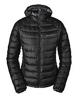 Пуховик Eddie Bauer Womens Downlight StormDown Hooded Jacket S Черный (1074BK)
