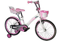 Велосипед детский KIDS BIKE CROSSER-3 18 дюймов. Розовый., фото 1