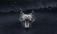 Мужское кольцо сталь 316L Скандинавский Волк кельтский узел 19-22 размеры