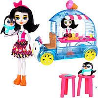 Энчантималс Прина Пингвина Фургончик мороженого Enchantimals Penguin (887961553352)