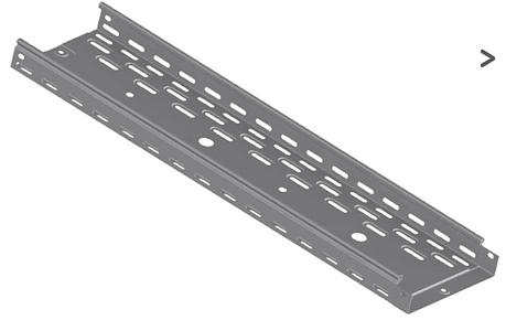 Лоток перфорированный СКаТ Standard 400х100, фото 2