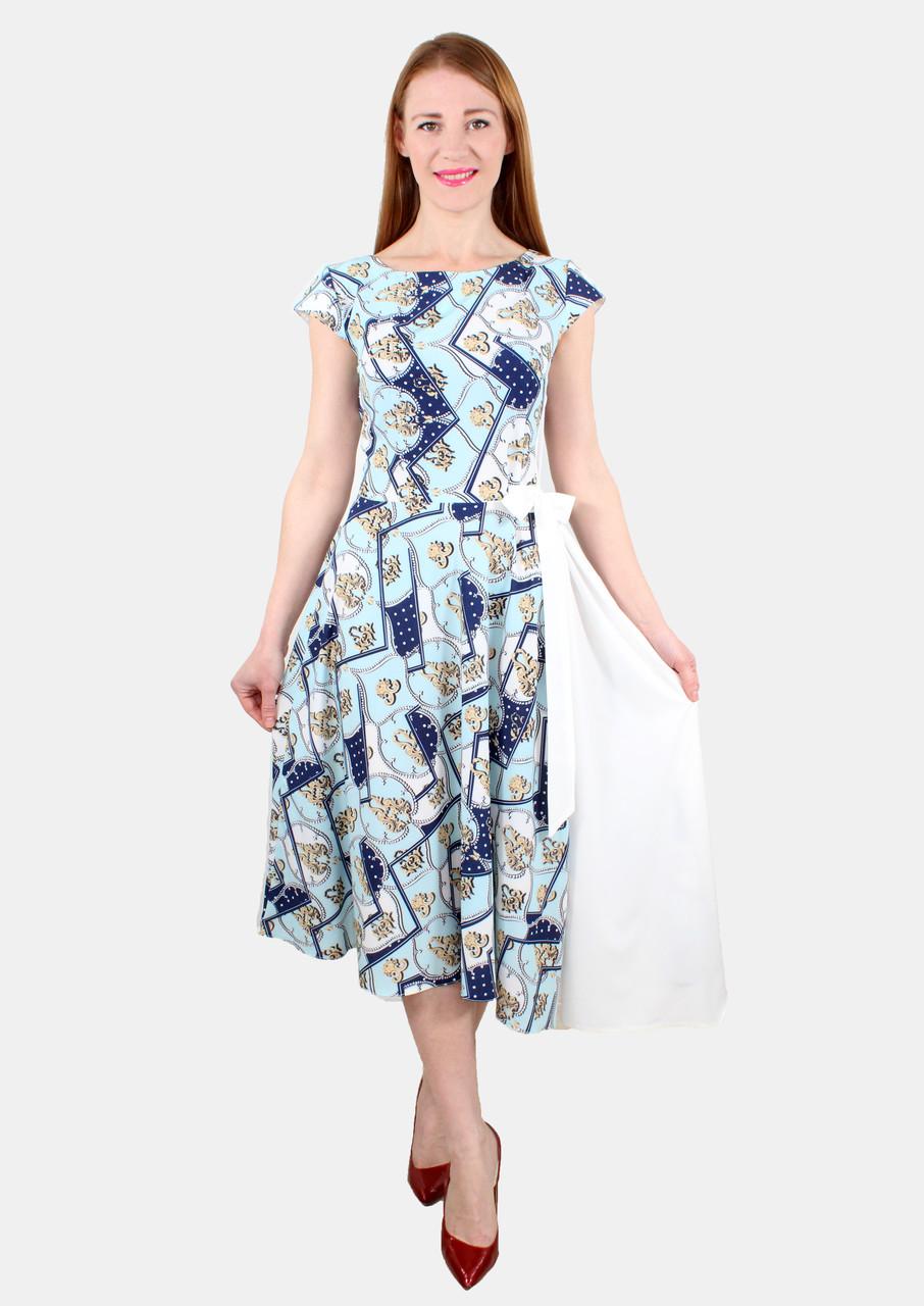 Нарядное летнее платье 44-50 р ( разные размеры )