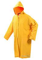 Плащ с капюшоном водонепроницаемый VOREL желтый, размер XXXL