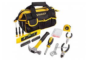 Набір інструментів STANLEY в сумці 44 х 20 х 18 см, 62 шт.