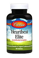 Комплекс для Поддержки Сердечно-Сосудистой Системы, Heartbeat Elite, Carlson, 90 таблеток