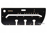 Шаблон для соединения кухонных столешниц YATO 1000 х 390 х 53 мм