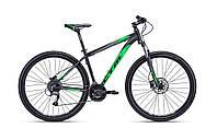 """Велосипед горный CTM Rein 3.0 (matt black/green) (29"""") 22"""""""