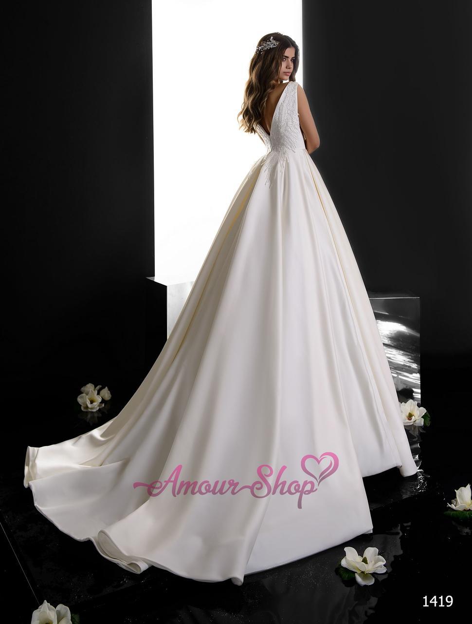 412b4d96e44a36b Атласное свадебное платье, цена 7 800 грн., купить в Киеве — Prom.ua ...