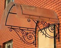 Козырьки из поликарбоната., фото 1