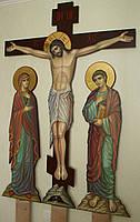 Голгофа для храма. Крест с распятием и предстоящими., фото 2