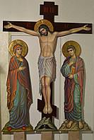 Голгофа для храма. Крест с распятием и предстоящими.