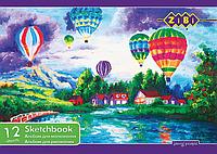 Альбом для малювання 12 арк. скоба