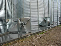 Радиальные вентиляторы для аерации зерновых силосов, зерна, фото 1