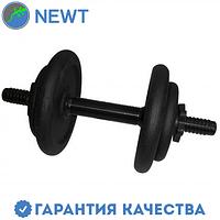 Гантель наборная стальная Newt 8,5 кг