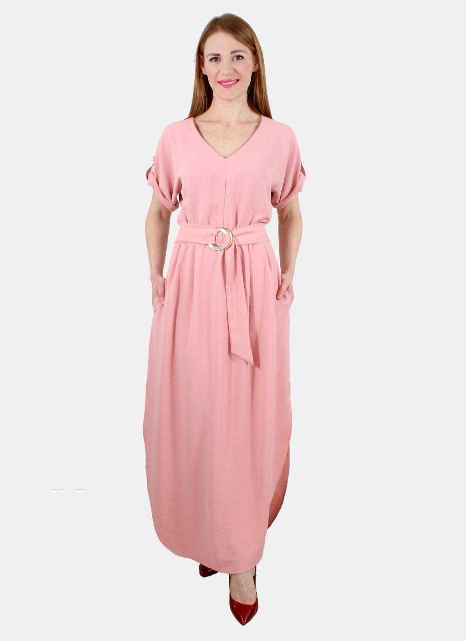 Платье длинное с разрезами по бокам 44-50 ( разные цвета )